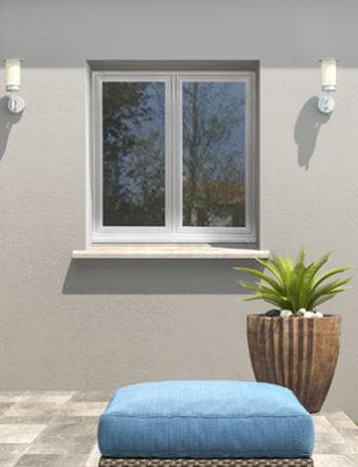 Fenêtres PVC EFFYBELLE2 Blanc Extérieur