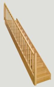 escalier Chene Classica les menuiseries Françaises