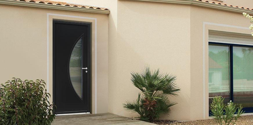 Porte d'entrée Acier Allium Classic